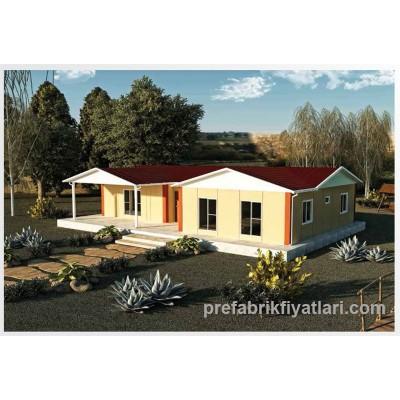 123 m² Prefabrik Ev 3+1 (VERANDALI)