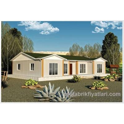 129 m² Prefabrik Ev 4+1 (VERANDALI)