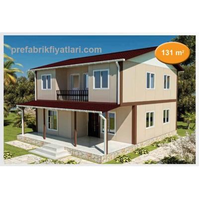 131 m² Prefabrik Ev Dublex 3+1 (BALKONLU)