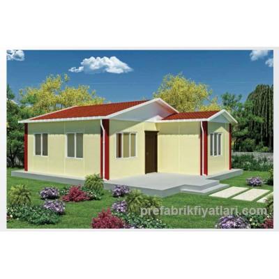 49 m² Prefabrik Ev 2+1 (TERASLI)