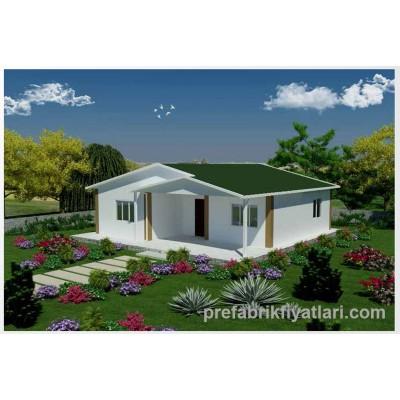 82 m² Prefabrik Ev 2+1 (VERANDALI)